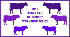 Cows Can Be Purple Workshops