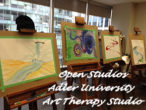 Open Studios at Adler University Art Therapy Studio